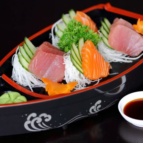 Assorted Sashimi at Oishii Japanese & Thai Cuisine Hunter Valley