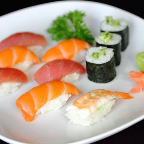 Assorted Sushi & Nori Rolls at Oishii Japanese & Thai Cuisine Hunter Valley