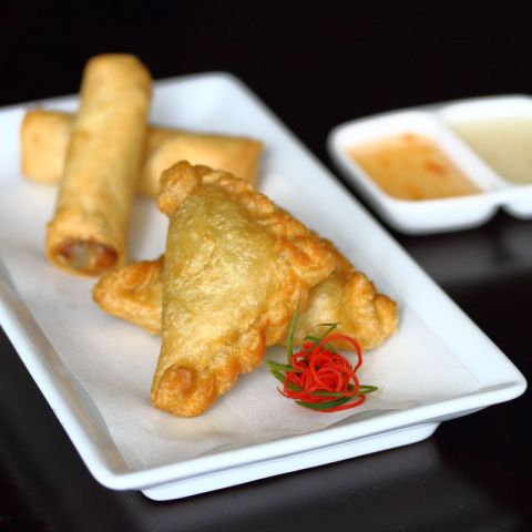 Curry Puff at Oishii Japanese & Thai Cuisine Hunter Valley