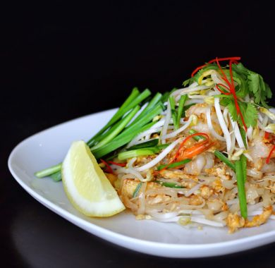 Pad Thai Prawn at Oishii Japanese & Thai Cuisine Hunter Valley